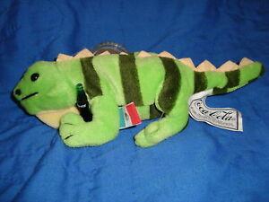 Coca Cola Collectable Plush Beanbag Iguana Lizard Paco