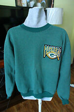 Rare NFL Green Bay Packers Turtleneck Sweater Majestic Made in USA Mens Medium