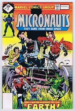 Micronauts #2 Whitman Variant Signed w/COA Michael Golden FN/VF 1979 Marvel