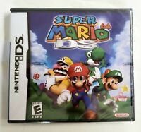 Super Mario 64 DS (Nintendo DS, 2004) Brand New Sealed  - Free Ship USA Seller