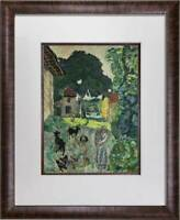 "Pierre BONNARD Lithograph SIGN ""Village"", 1923 , Limited Edition + Custom FRAME"