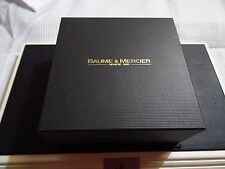 Baume & Mercier box, case , caja , scatola ,  boite + Card