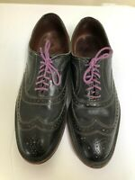 Allen Edmonds  McAllister Wingtip Oxfords Size 9D Black