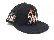 New Miami Marlins New Era 2017 All-Star Black Home Run Derby Snapback Hat