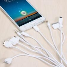 10 in 1 Multi Pin Phone/MP3 USB Charging Cable Wire Adapter Data Charger Lead