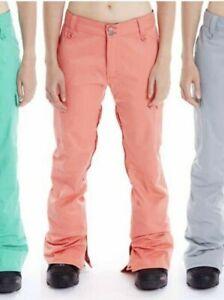 ANAKIE NWT $279 Women's Melon Addiction Insulated Snowboard Pants Waterproof  M