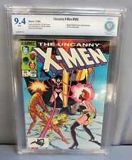 THE UNCANNY X-MEN #189 (White Pages) CBCS 9.4 NM Marvel Comics 1985 cgc