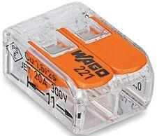 10x WAGO COMPACT Verbindungsklemme, 221 - 412, Hebelklemmen, Klemme mit Hebel