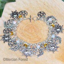 Equinox Charm Bracelet - Celestial charms - Pagan Jewellery, Wicca, Witch, Solar