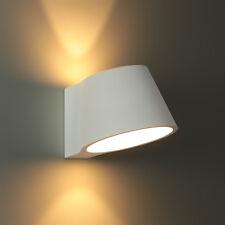 "LED Gips Wandlampe 3W 250lm Runde Lampe Wandleuchte weiß Flurlampe ""Plaster-7"""