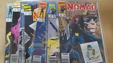 from Avengers Comic NOMAD lot 1 2 3 4 5 6 7 vf+ bagged