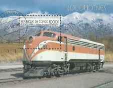 Timbre Trains Congo o lot 1558