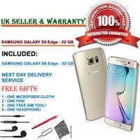 Samsung Galaxy S6 Edge SMG925F 32GB Gold Platinum Unlocked Smartphone GRADE B+++