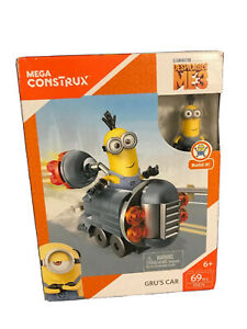 Mega Construx Despicable Me GRU's CAR Minion 69 pcs FDX76