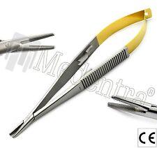 Surgical Suture Holding Porte-Aiguille Forceps de Castroviejo carbure de tungstène Astuce