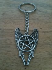Supernatural - Angel Pentagram Amulet - Keyring/Bag Charm