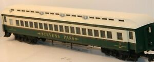 Aristo-Craft G, 31304, Burlington (BN), Stevens Pass Coach Car, C-7 Excellent  t
