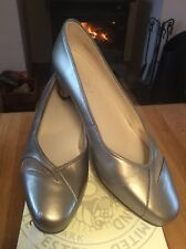 "Ladies ""EQUITY"" Pewter Shoes Sz 6.5 EEE ( Wider Fitting) Rrp £54.99 Vgc"