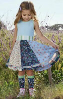 Matilda Jane Dreamcatcher Dress Girls Size 6 8 10 New In Bag Spring Blue Easter