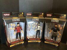 Marvel Legends Shang-Chi, Wenwu & Xialing Lot No BAF