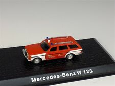 MERCEDES-BENZ W123 Firefighters car  - 1/72 - ATLAS -