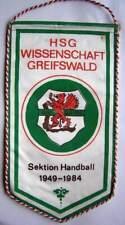 Wimpel HSG Wissenschaft Greifswald - Sektion Handball 1984