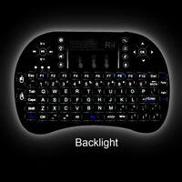 Rii mini i8+ wireless keyboard WITH BACK LIT for Amazon fire smart TV PC
