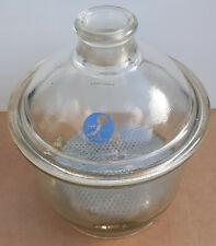 More details for glass desiccator vacuum jar lab dessicator dryer