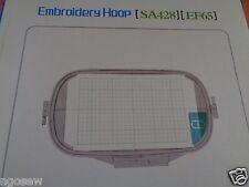 "6""x10"" Jumbo Hoop  Baby Lock Ellageo ESG1/ESG2 Ellageo ESG3 #EF65 #SA428"