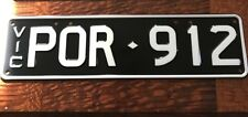 Personalised Vic Number Plates To Suit  Porsche