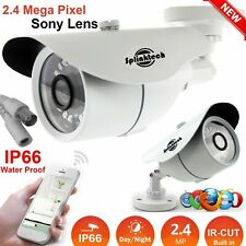 CCTV Bullet Camera 2.4MP IR Night Sony 1080P HD For Outdoor Home Security DVR