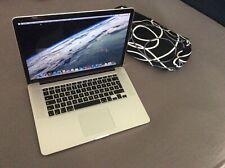 Apple MacBook Pro 15 Retina Early 2013 Intel Core i7 8GB RAM 256GB SSD NVIDIA