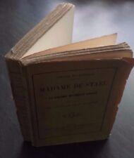 COPPET&WEIMAR MADAME DE STAEL M.LEVY PARIS 1862 BROCHE E.C