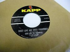 "Ruby and The Romantics Sweet Love/My Summer Love 7"" 45 rpm Kapp Records VG"