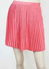 Chiffon Above Knee Pleated Regular Size Skirts for Women