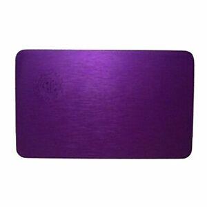 Tesla Purple Positive Energy Plates - Small Credit Card Size Tesla Purple Plate
