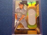 2017 TOPPS TRIPLE THREADS UNITY JUMBO RELIC JACOBY ELLSBURY NEW YORK YANKEES SJR