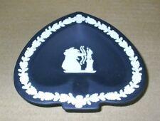 Wedgwood Jasperware Black Archers Spade Dish