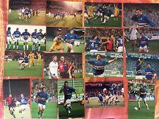 17 FOTO CALCIO SQUADRA UC SAMPDORIA ANNI '90 VERON MANCINI CARPARELLI  PESARESI