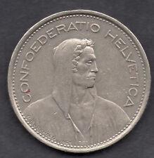 Switzerland 5 Franc 1975 coin