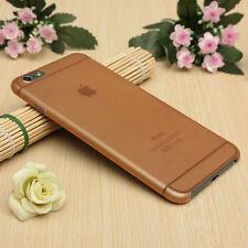 0.3mm Ultra Fino Translúcido Mate Esmerilado duro caso para cubrir iPhone 6 6s