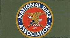 """Vinyl Ammo Can Magnet label """"NRA"""""""
