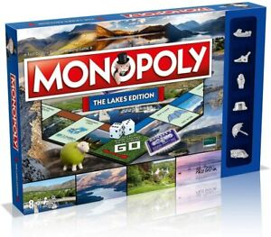 Monopoly WM00277-EN1-6 The Lakes Regional Board Game