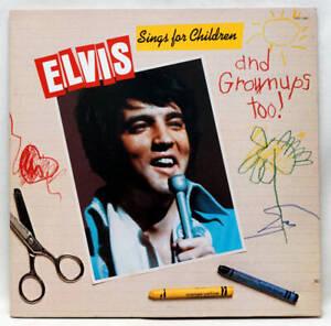 ELVIS PRESLEY Sings For Children And Grownups Too Vinyl LP RCA US 1978 VG+/VG+