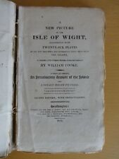 1812 ISLE OF WIGHT VOYAGE AROUND THE COAST - WILLIAM COOKE CARISBROOK NEEDLES @