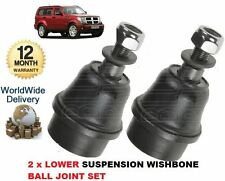 FOR DODGE NITRO 2.8DT 3.7 7/2007->ON 2x FRONT SUSPENSION WISHBONE BALL JOINT SET