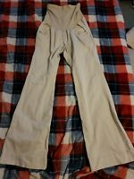 Womens Motherhood Maternity Khaki Pants Size Small