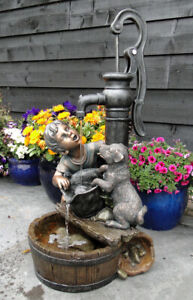 Ubbink AcquaArte Regina Gartenbrunnen Set Springbrunnen