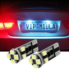 Xenon White T10 8-SMD Error Free Canbus Audi LED Parking Lights (2 Pieces)