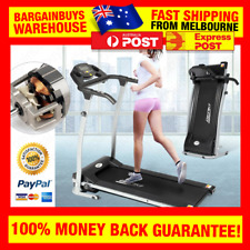 Motorized Treadmill Electric Cardio Workout Running Jogging Exercise Machine